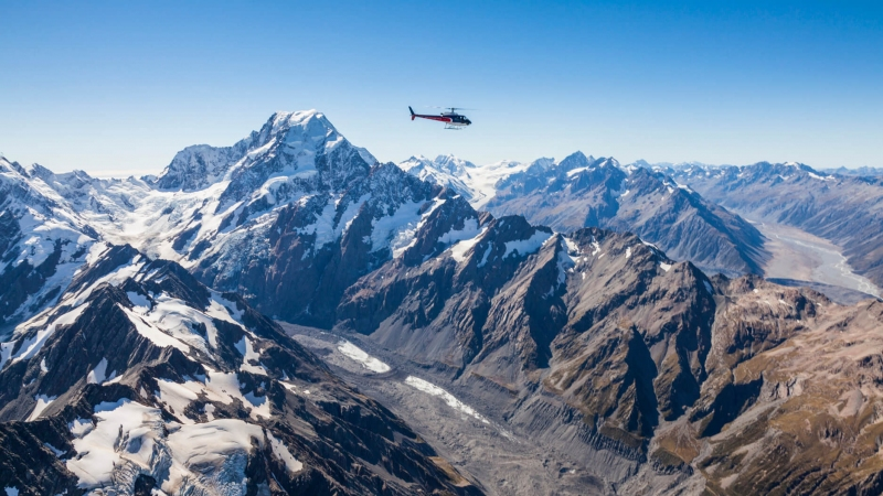 The Helicopter Line Mount Cook Scenic Flight over the Southern Alps
