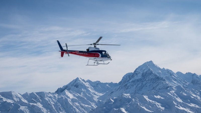 The Helicopter Line Mount Cook New Zealand Scenic Flight