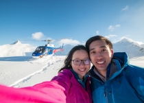 The Helicopter Line Queenstown - Selfie