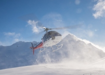 The Helicopter Line Queenstown - Alpine Snow Landing