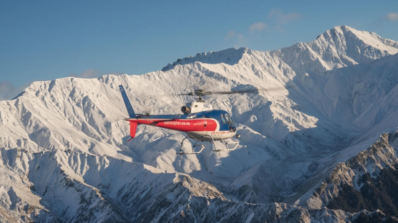 The Helicopter Line Queenstown Alpine Helicopter Flight