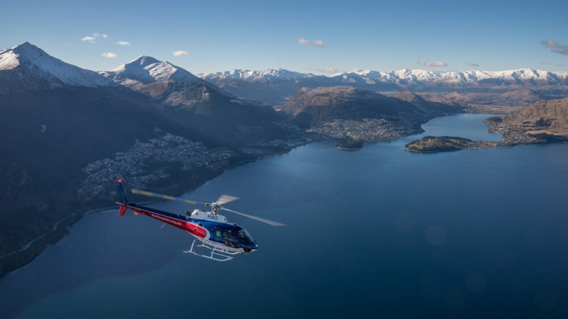 The Helicopter Line Queenstown Lake Wakatipu 2