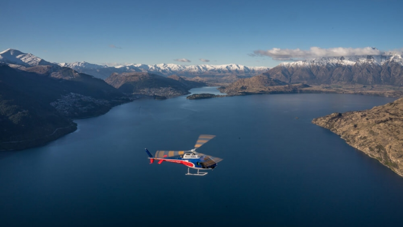The Helicopter Line Queenstown Lake Wakatipu