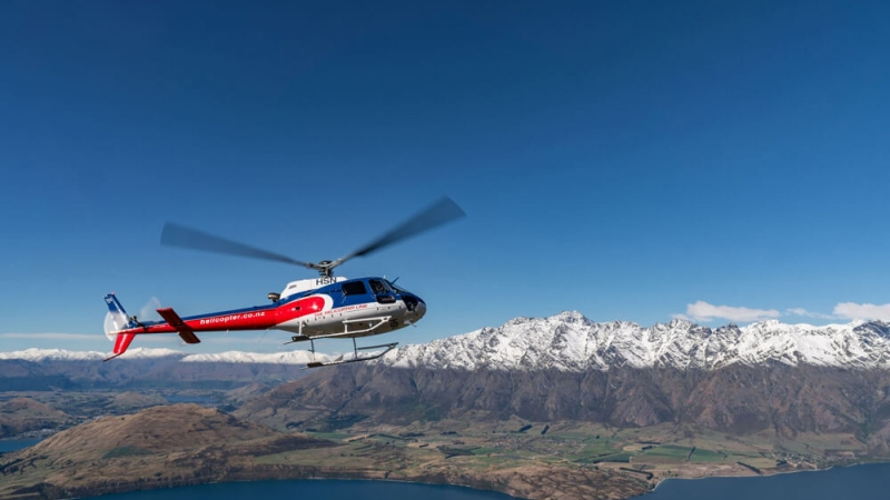 The Helicopter Line Queenstown The Remakables
