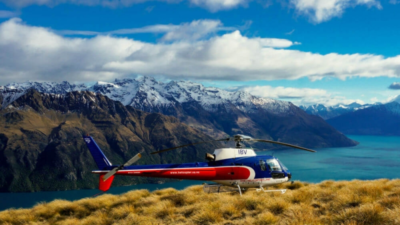 The Helictoper Line Queenstown Heli Wine Tour Halfway Bay