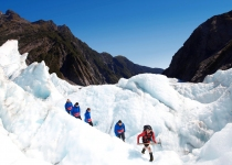 THL Franz Josef Heli Hike - Exploring the ice features