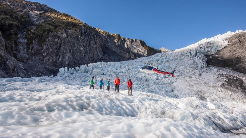 The Helicopter Line Franz Joseph Glacier Heli Hike Professionally Guided Tour