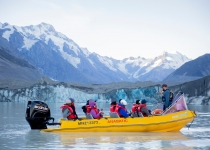 Glacial Boat Tour New Zealand
