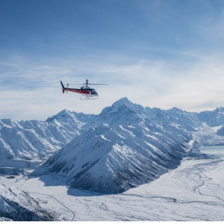 The Helicopter Line Mount Cook 9