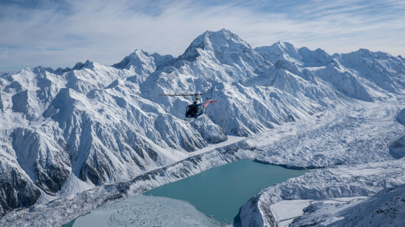 The Helicopter Line Mount Cook 13