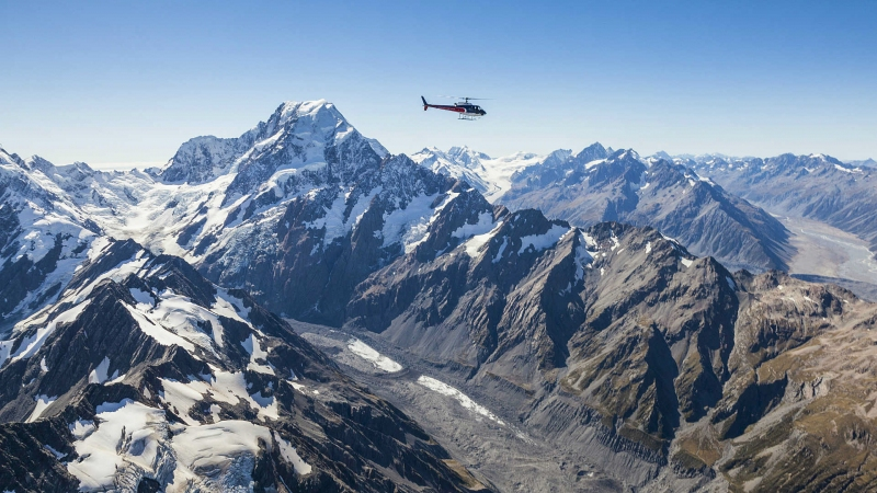 The Helicopter Line Mount Cook 7